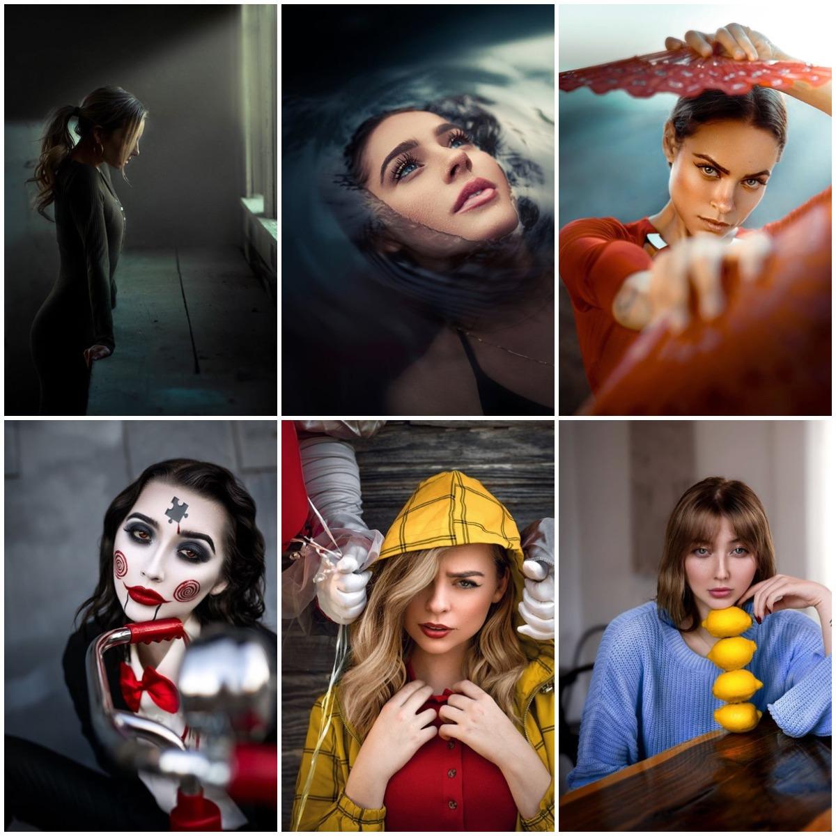 Тематические фотосессии девушка модель веб камеры отзывы